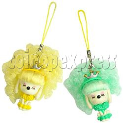 Sunshine Hair Color Change Mobile Phone Strap