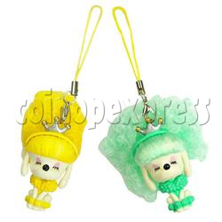 Cold Light Color Hair Change Cellular Phone Strap