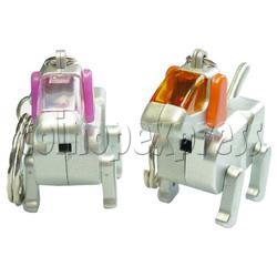 Robotic Dog Keychain