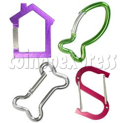 Aluminium Key Rings