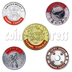 Token-With Color Printing