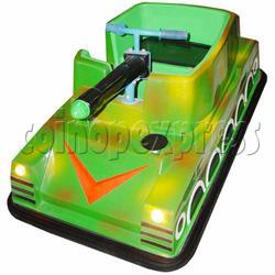 Flashing Tank Battery Car