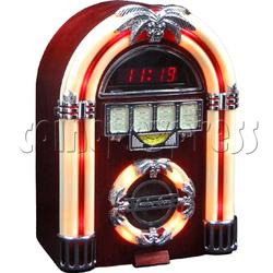 Radio Juke Box - 2 with Led Clock