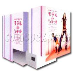 Model De Shot Photo Sticker Machine