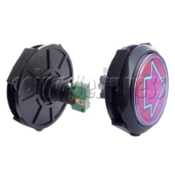 100mm Music Arrow Push Button with Lamp