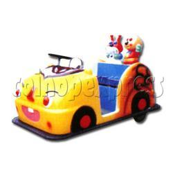 Cartoon Battery Car