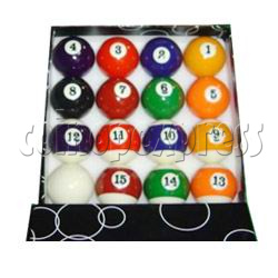Pool Ball Set (Smaller Size)