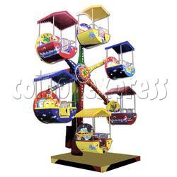Zamperla Mini Ferris Wheel (6 Arms with Roof)