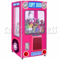 Gift Bus Crane Machine