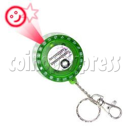 LED Laser Pointer Key Ring