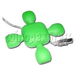 Flexible 4 Ports USB2.0/1.1 Hi-Speed Mini Hub