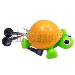 Tortoise Shape FM Auto Radio with Earphone