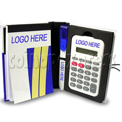8 Digital Notepad Calculator with Ball Pen