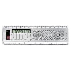 8 Digital Desktop Calculator with Ruler