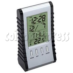 Multi-Function Double-Face LCD Clock with 8 Digitals Calculator