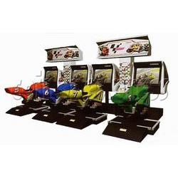 MotoGP bike racing machine (4 players, SD)