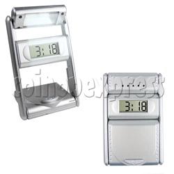 Alarm Clock with Book Light