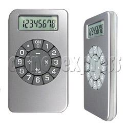 Calculator with IPOD Shape