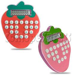 Strawberry Shape 8 Digital Calculator
