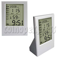 LCD Clock with Multifunction