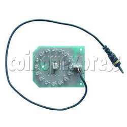 Blue LED PCB for Cymbal Pad