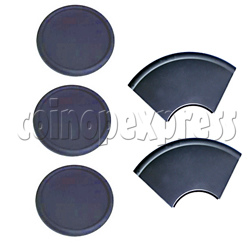 Round and Sector Rubber Pad Set