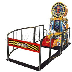 Penalty Shot Football DX game machine