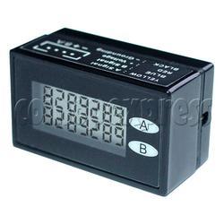 LCD 7 digit meter