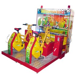 Mountain Bike racing machine (2 players)