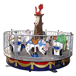 Kid Carousel: Horse and Carriage (6 players)