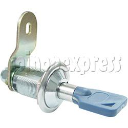 Circle Type Metal Door Lock With Key (28mm)