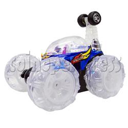 Stunt Car with 5 Wheels