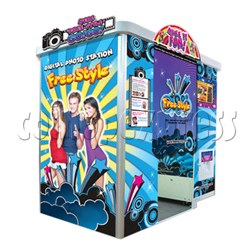 Free Style photo sticker machine