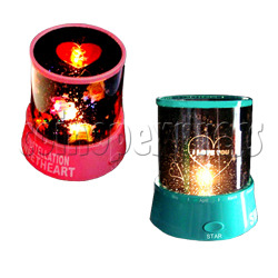 Mini Colorful Night Sky Projection