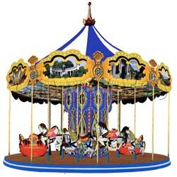 7.8 MT carousel (24 players)