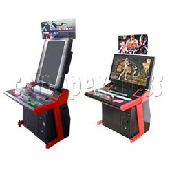 Modern LCD arcade cabinet