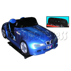 ZAP3 Sport Car Kiddie Ride (with Monitor)