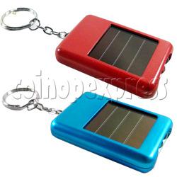 Handy Solar Power Flashlight with Keychain