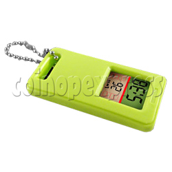 Mini Clock Keyrings With LCD Display