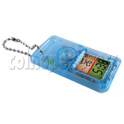 Crystal Shape Clock Keyrings