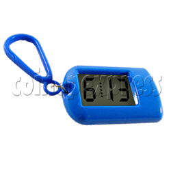 Clock Keyrings In Fashion Blue Color