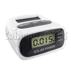 3 Buttons Pedometer With Solar Power
