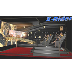 X Rider - motion theater (4 players)