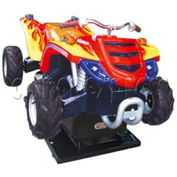 Zap Quad Motorcycle Kiddie Ride (2 players)