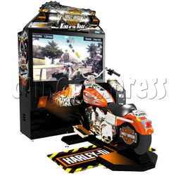 Harley Davidson: King of the Road (55 inch LCD Screen)