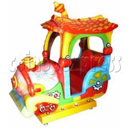 Bright Train Kiddie Ride (2 players)