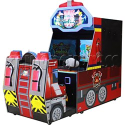 Fire Hero Water Splash Shooter Game Machine