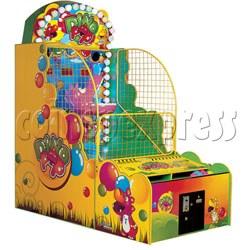 Dino Pop Ball Shooter Ticket Redemption Machine
