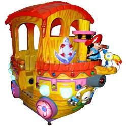 Motion Kiddie Ride: Boom Boom Boat