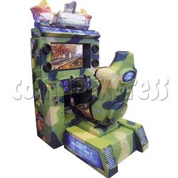 Tank Adventure 32 LCD screen
